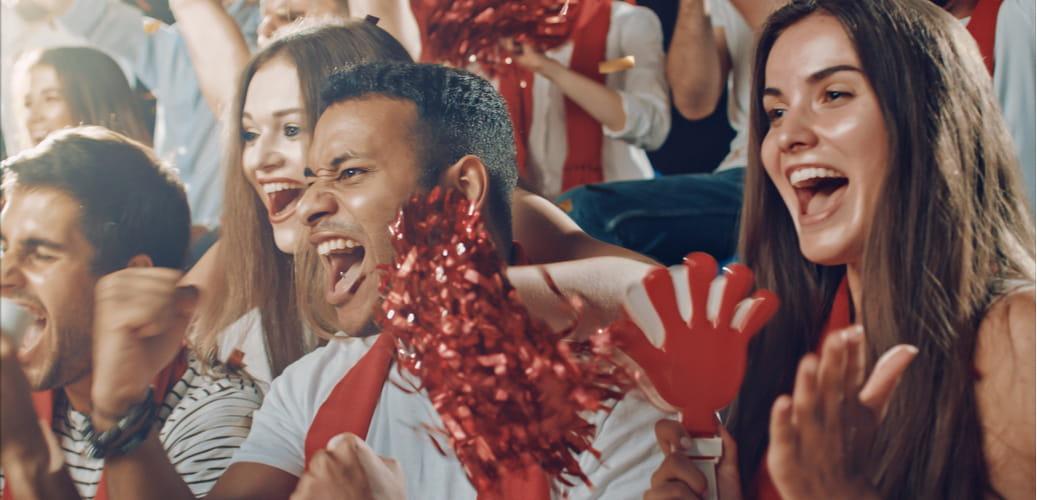 Atlanta United fans in Stadium