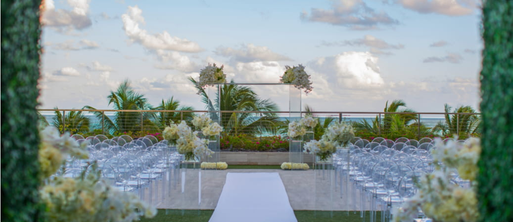 wedding venue on the water