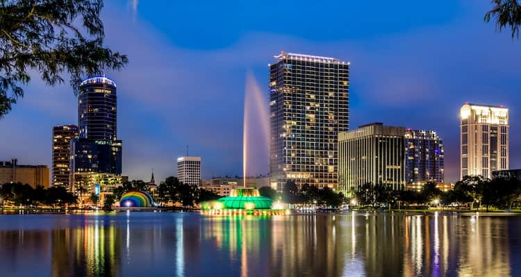 Lake Eola in Orlando