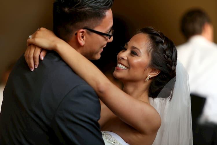Los Angeles bride and groom