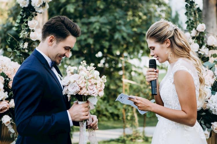 Los Angeles wedding vows