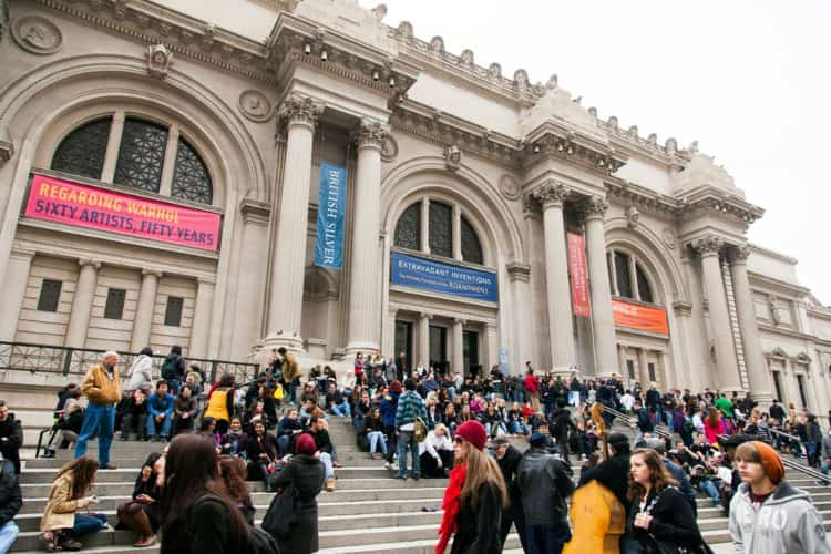Entrance of the Met