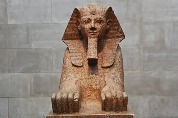 Sphinx at Met museum
