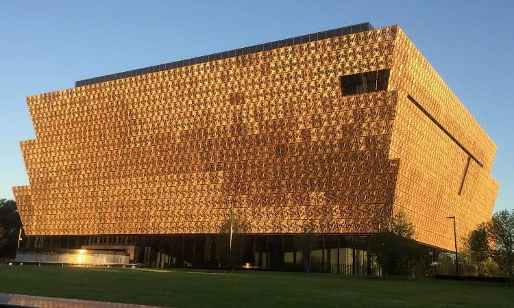 National Museum of African American History and Culture in Washington DC