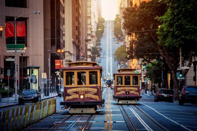 San Francisco California Street