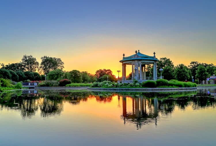 Forest Park in St Louis