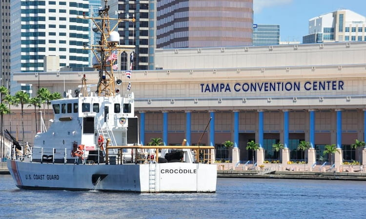 waterfront tampa convention center exterior