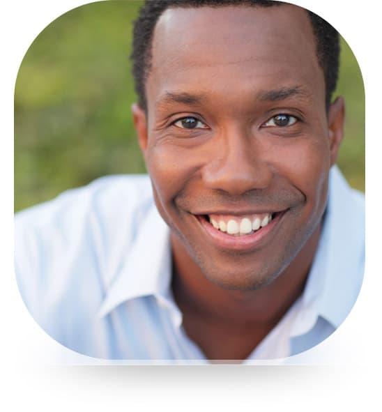 smiling man testimonial