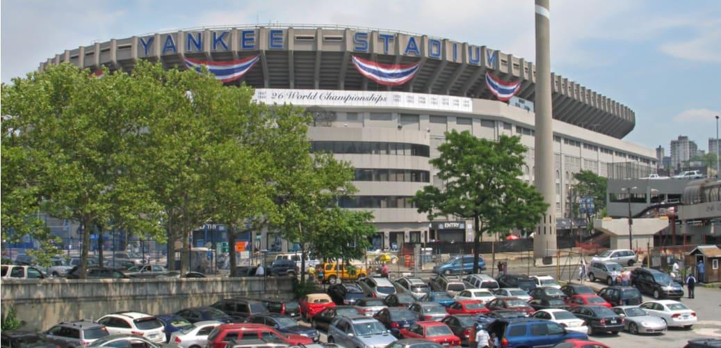 Exterior view of Yankee Stadium