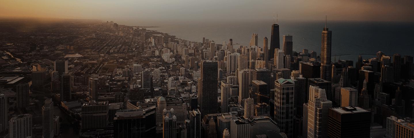 metropolitan skyline